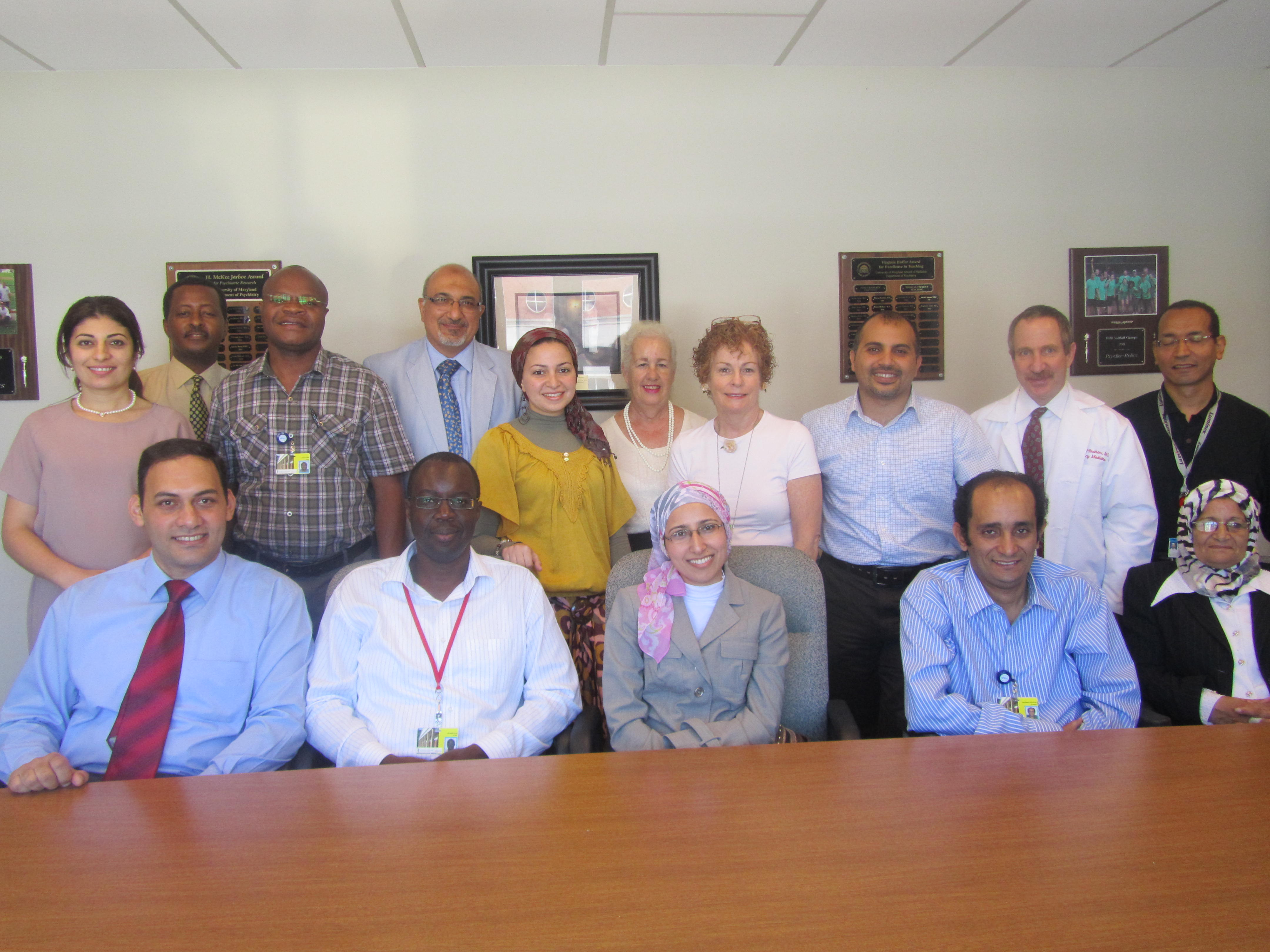 Fogarty Injury Prevention Research Trainees-2012